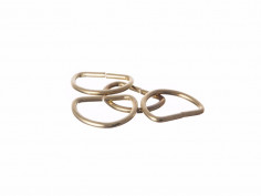 D CURTAIN RINGS 25MM