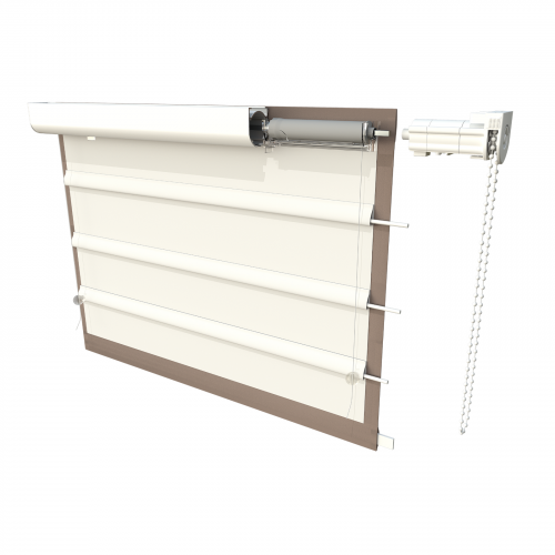 Roman Blind Head Rail Kit with Safety Side Control